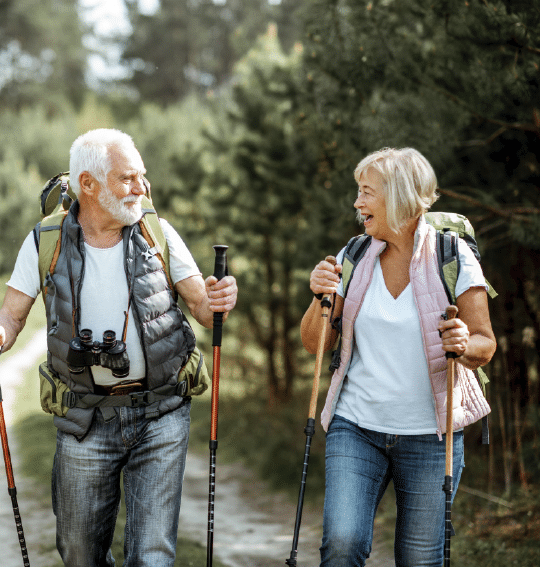 Retirees with a fruitful retirement